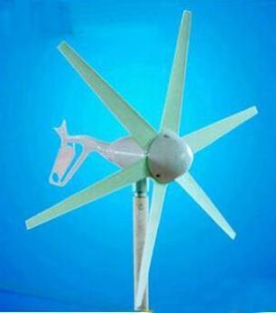 JDX-PY6 江门粮食局风光互补示范项目专用 小型水平轴风力发电机200W