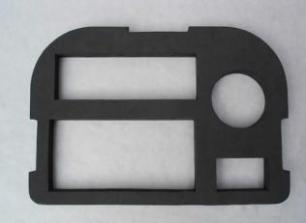 专业加工EVA背胶成型的厂家昆山EVA泡棉卷 昆山背胶EVA垫片