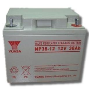 汤浅蓄电池NP38-12 正品汤浅蓄电池12V38AH 原装正品免维护蓄电池