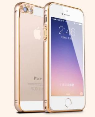 苹果iphone5s手机壳金属边框媚眼护眼梅花眼