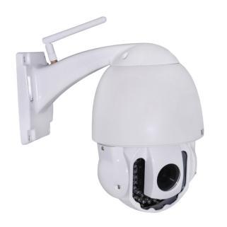 HW0025 夜视滤镜 室外变焦云台防水球机 无线wifi高清网络摄像机