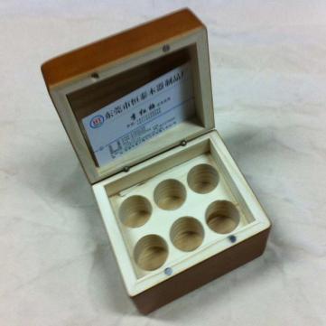 东莞木制金币盒厂家定制烤漆木质家居 高档金币盒 价格合理