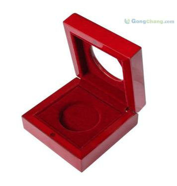 东莞木制品厂家定制烤漆 高档徽章盒 价格合理