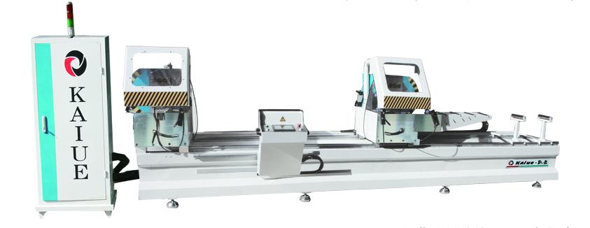 断桥铝门窗设备数控双头切割锯凯岳LJZ2-CNC-4600