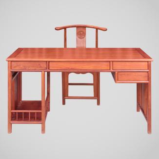 明轩电脑桌,红木电脑桌