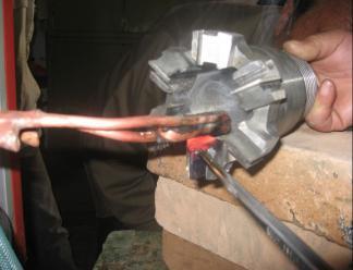 复合片钻头焊接