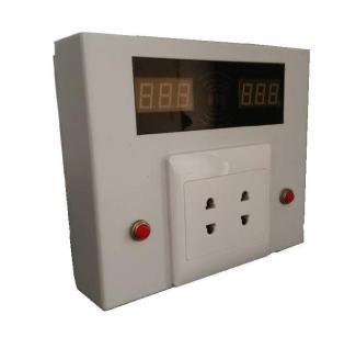 小区电动车车库两路输出刷卡型充电插座盒