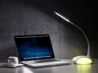 新款LED学习台灯HHS-Q8 七彩护眼气氛台灯 卧室床头台灯LED