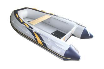 中艇CNT V280拉丝气垫底橡皮艇 三人橡皮艇