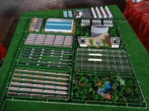 智能农业沙盘模型---中国第一家
