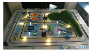 智能交通沙盘模型---中国第家以物联网为住的模型公司