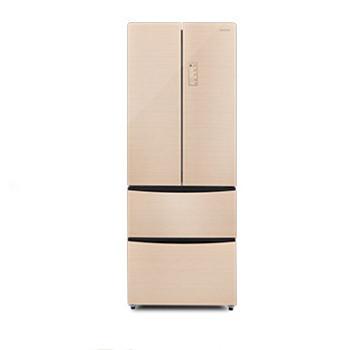 容声405l智能变频法式多门风冷冰箱