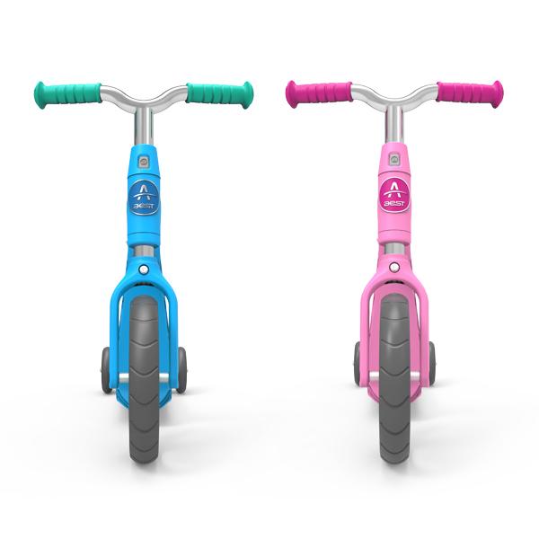 儿童骑滑二合一滑行车