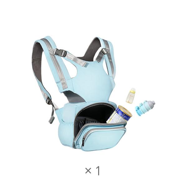 多功能一体式婴儿小方背包