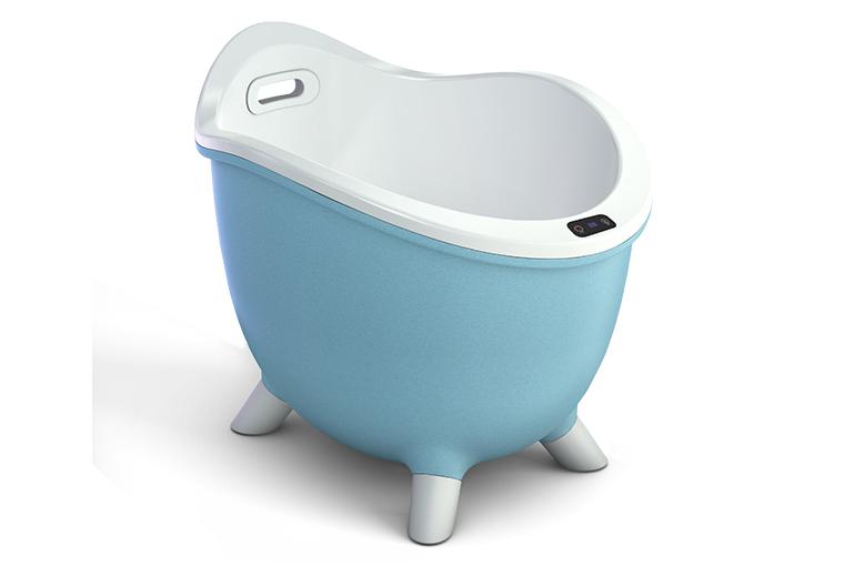 第一次听说有一款可以恒温冲浪的浴桶