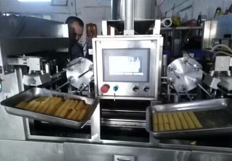 全自动蛋卷机_蛋卷嘎嘣脆_普鲁森机械厂供应厂家     图片2