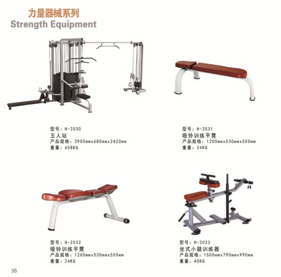 双豪尊爵健身器械健身房力量型健身器材二头弯举椅坐姿胸部推荐练习器图片7