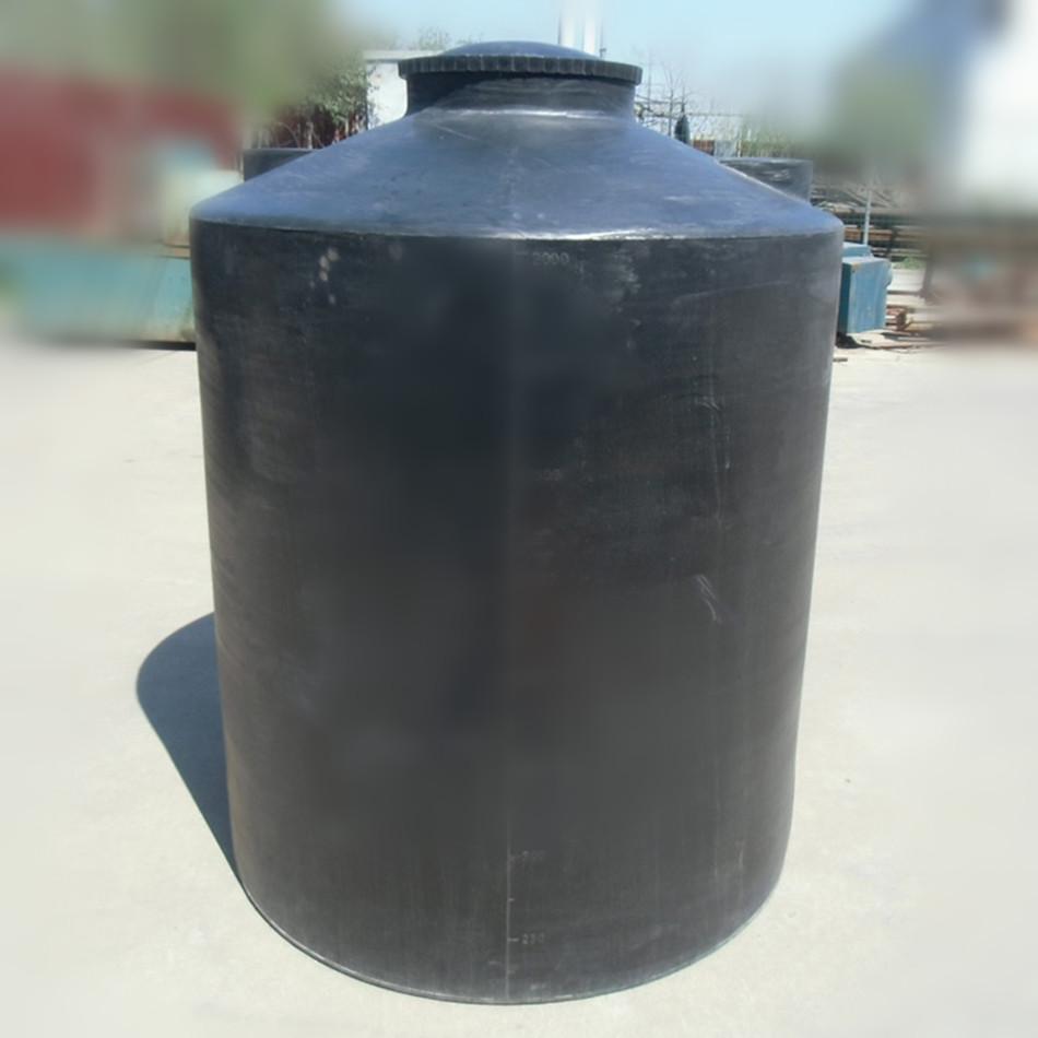 塑料水塔pe牛筋储水罐大型工程水箱储油污水化工1.5立方蓄水桶图片2