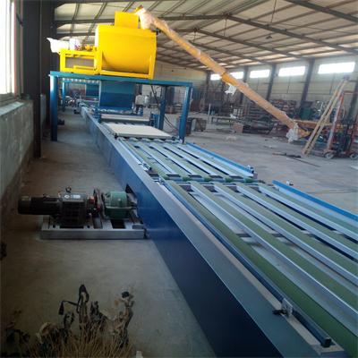 自动化程度高高标准新一代环保玻镁板设备超低价出售