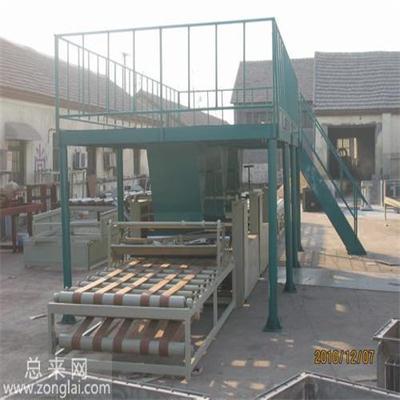 自动化程度高高标准新一代环保玻镁板设备超低价出售图片2