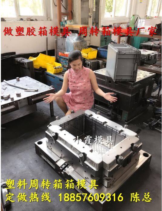 黄岩塑料模具源头工厂注射啤酒箱模具设计制造 图片4