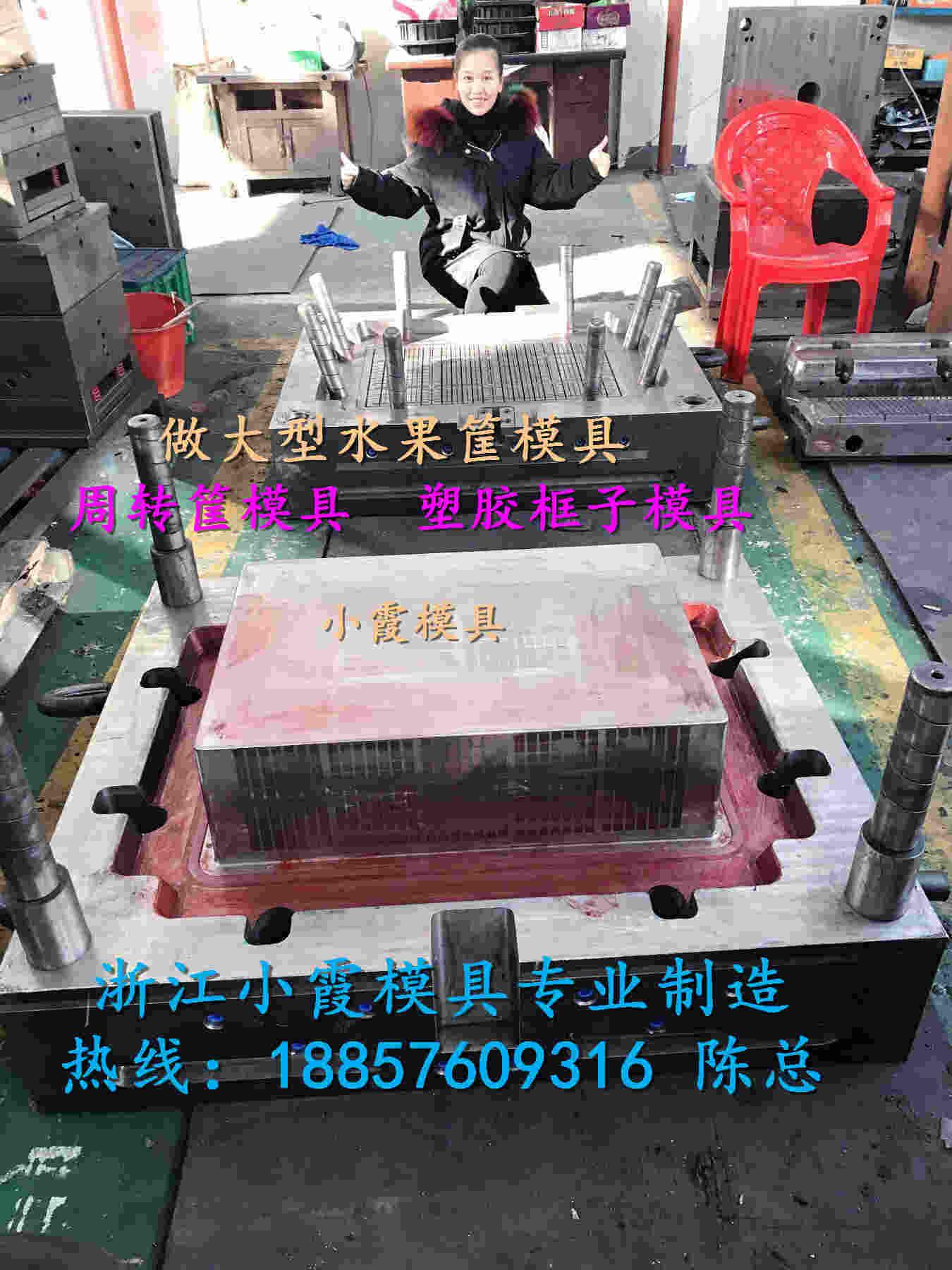 黄岩塑料模具源头工厂注射啤酒箱模具设计制造 图片5