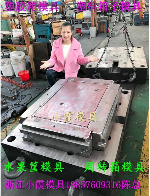 塑胶注塑模具厂家注射储物盒模具加工生产  图片4