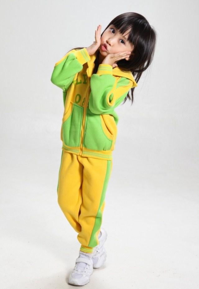 新款幼儿园小学生校服班服运动会服装冬款运动服图片