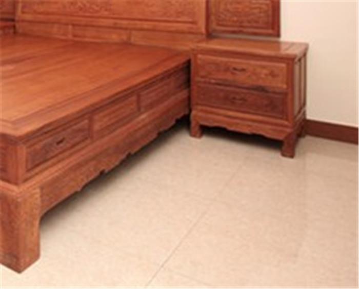 山水床-缅甸花梨家具-供应红木沙发-新中式家具-古典