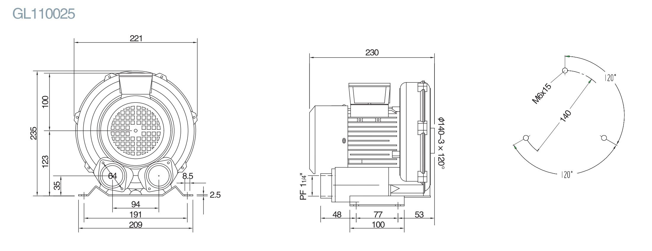 气泵工作原理图解