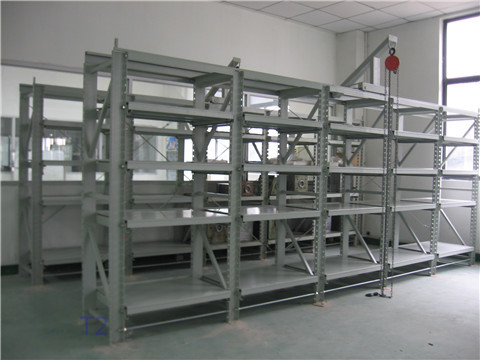 上海南汇模具货架生产厂家供应重型组合式抽屉模具货架