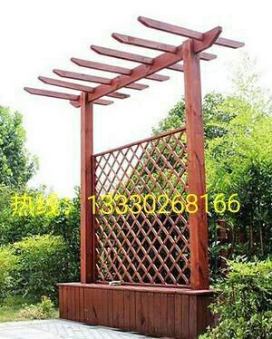 泉森3米花架|重庆防腐木葡萄架制作厂家|重庆景观花架