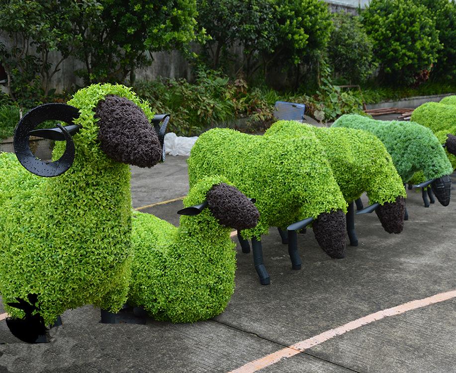 仿真各种雕塑 动物造型