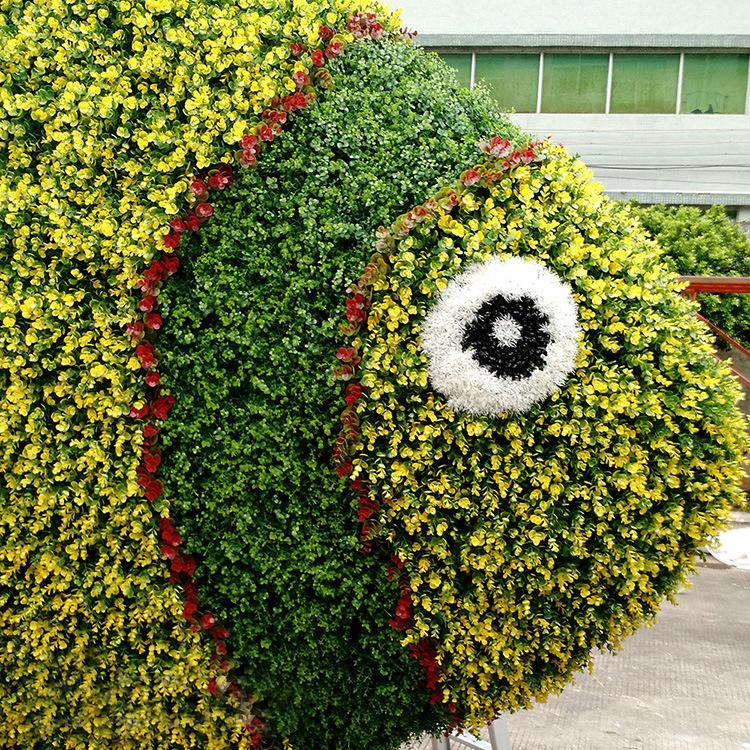 深圳江南园艺订制仿真绿雕 仿真各种雕塑 动物造型