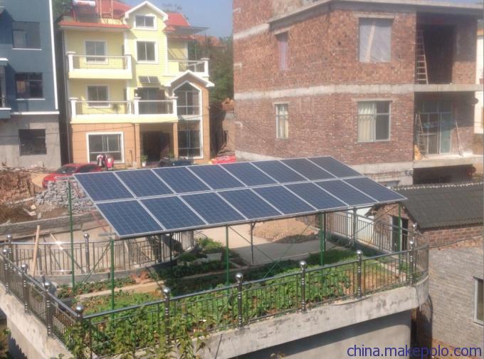 郑州10kw离网光伏太阳能发电系统,家庭太阳能发电