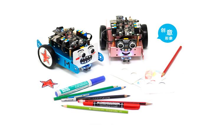 创客工场机器人小车mbot