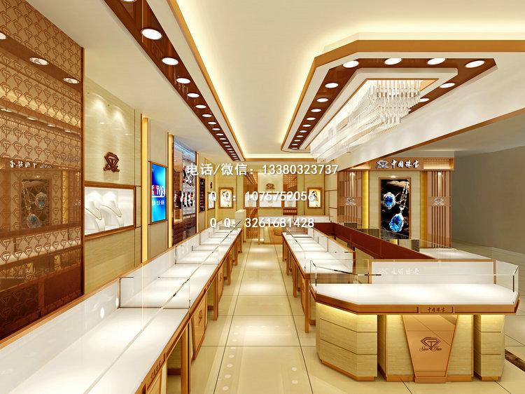 商场珠宝店面设计