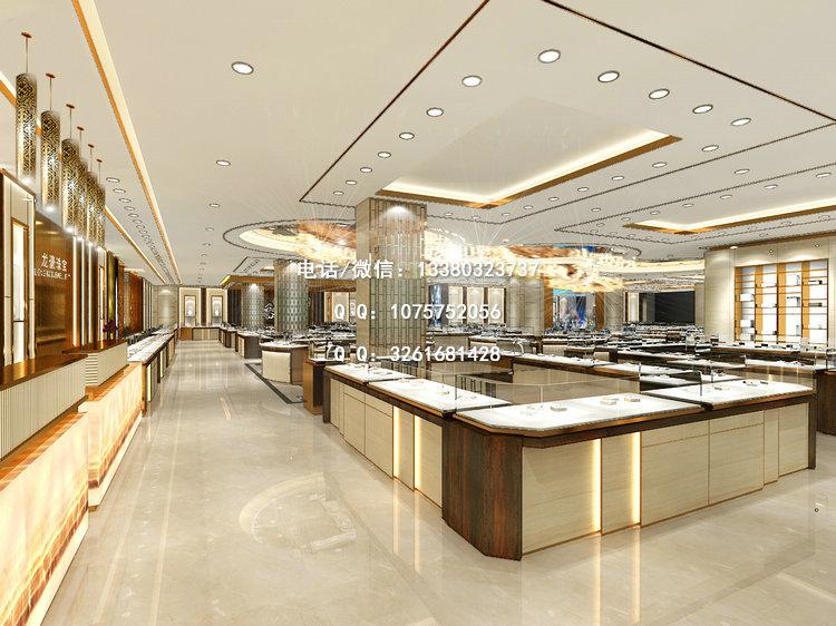 中国珠宝展示柜,商场珠宝店面设计