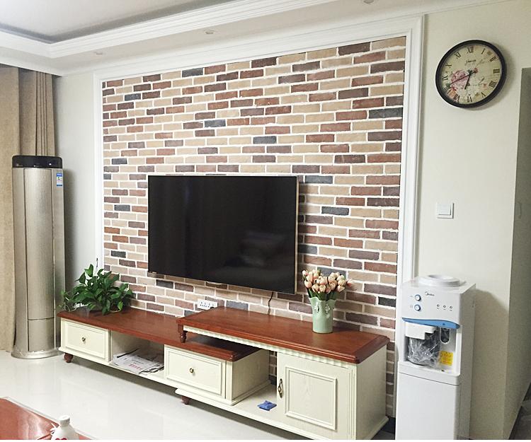 普罗旺斯文化砖文化石电视背景墙砖室内仿古砖田园瓷砖9588