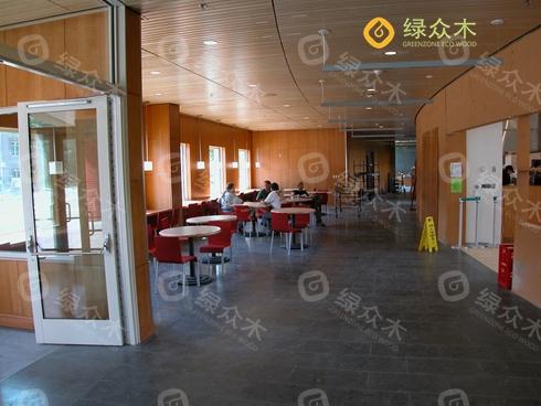 佛山生态木 简约客厅设计型材 简欧风格客厅电视背景墙wv186