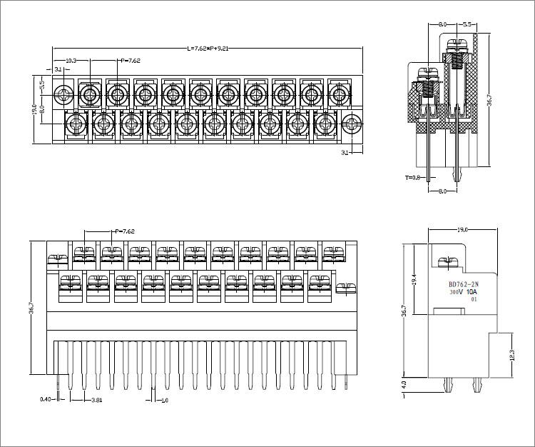 供应三菱fx1n1s2n3u系列plc接线端子
