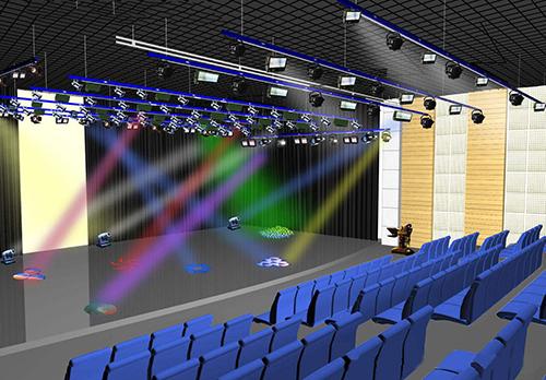鼓楼区舞台灯光,舞台灯光三个发展趋势