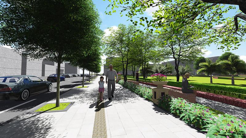 街道景观设计要考虑的几个重要问题图片