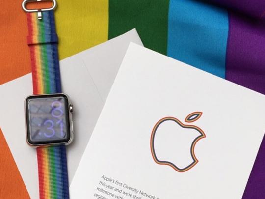 为纪念30周年 苹果彩虹版Apple Watch表带新品推出