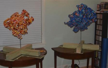 乐高积木带来非凡创意,展示出作为一件艺术品的魅力