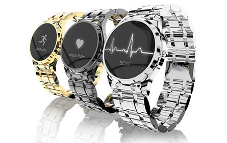 智能手表Cronovo开启众筹,最小心电图仪的健康管家