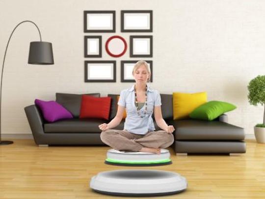 悬浮坐垫Enso:边听音乐边冥想