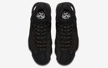 """复刻配色+极具纪念意义 NIKE发售AIR JORDAN 13 RETRO """"BLACK CAT"""" 篮球鞋"""