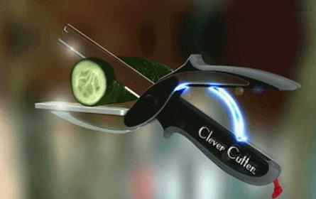 快速锋利的切菜神器clever cutter,让做饭so easy!