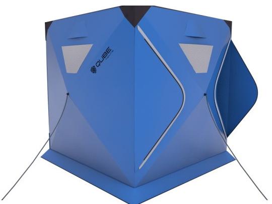 Qube Tents模块化帐篷:豪华套房住起来